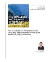 The Challenge and Promise of Wealth Management